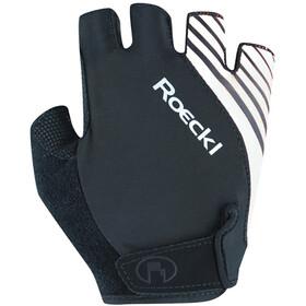 Roeckl Naturns Gloves, black/white